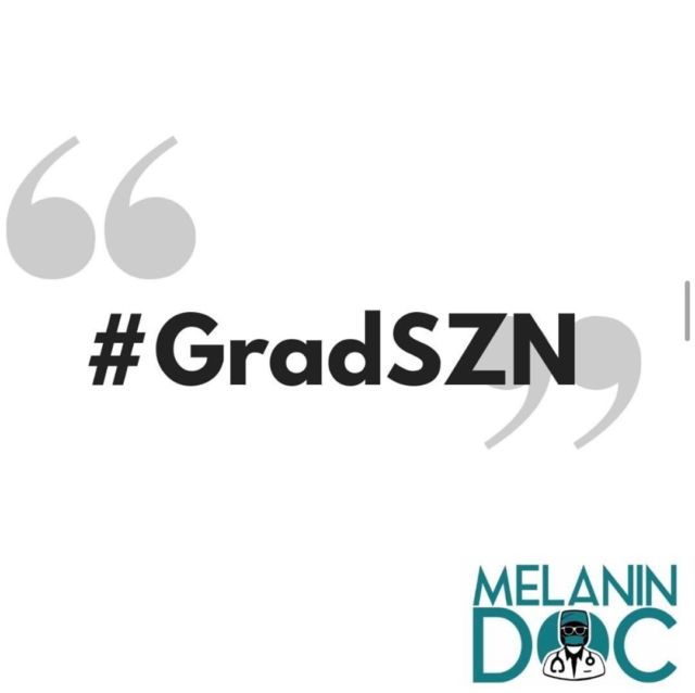 It's Grad SZN!! Tag us in your graduation pictures for a feature!  Be sure to use the link in our bio to make your #MelaninMerch purchase and join the Melanin Doc family! https://pro.teechip.com/stores/melanindocstore • • • • • #blackexcellence #minorities #theshaderoom #daquan #motivation #doctor #medicine #love #instagood #tbt #happy #followme #fun #life #melanin #black #beautiful