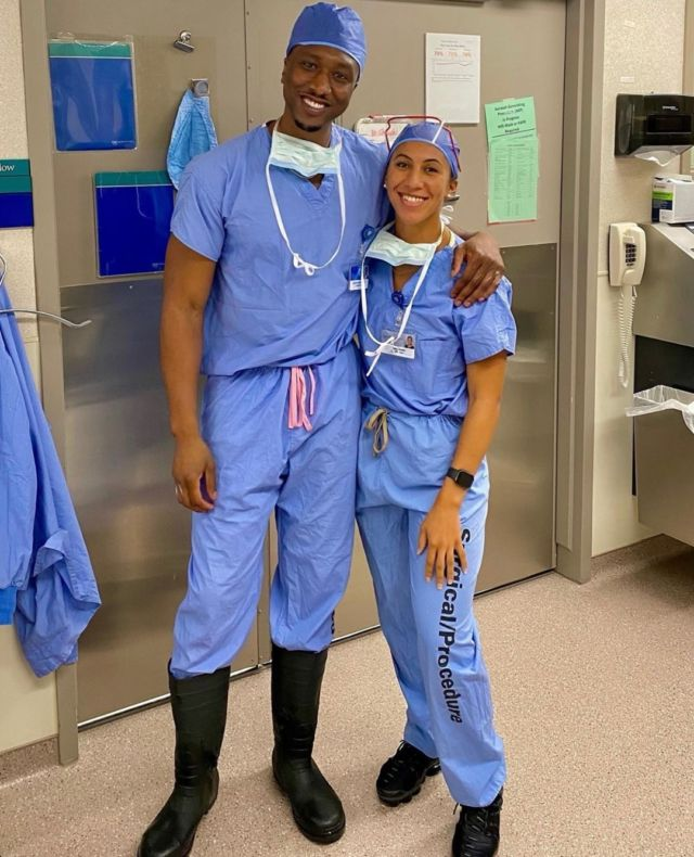 """@doctorokoro • Mayo Clinic • Orthopedic Surgeon and Sports Medicine Specialist . . """"𝗗𝗶𝘃𝗲𝗿𝘀𝗶𝘁𝘆 𝗶𝗻 𝗢𝗿𝘁𝗵𝗼𝗽𝗲𝗱𝗶𝗰 𝗦𝘂𝗿𝗴𝗲𝗿𝘆 . Of all the medical and surgical subspecialties, orthopedic surgery historically has had the lowest percentage of women and minorities. Mayo Clinic's orthopedic surgery department is working to change that."""" . Be sure to use the link in our bio to make your #MelaninMerch purchase and join the  Melanin Doc family!  www.melanindocs.com/shop • • • •  #blackexcellence #minorities #theshaderoom #daquan #motivation #doctor #medicine #love #instagood #tbt #happy #followme #fun #life #melanin #black #beautiful"""